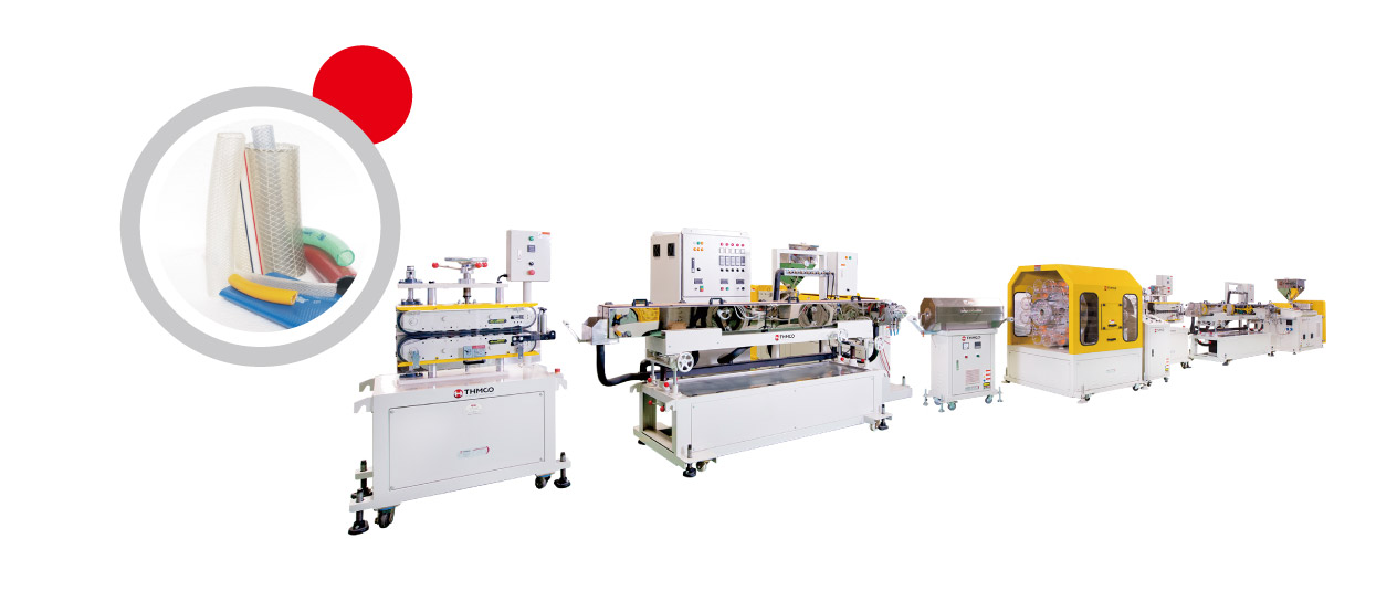 Reinforced Hose Extrusion Machine
