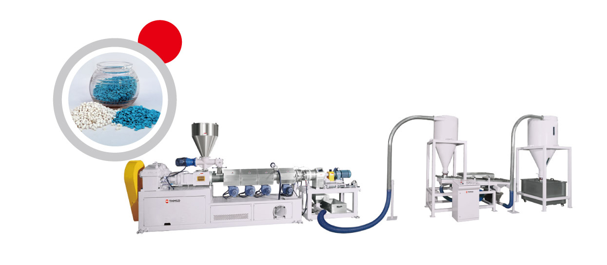 PVC Compounding Twin Screw Extrusion Machine